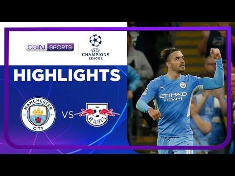 ดูฟูลแมตช์ +ไฮไลท์ Manchester City 6-3 RB Leipzig