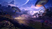 Another beautiful day on a alien planet!