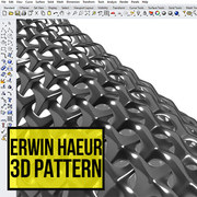 Erwin Hauer 3d pattern