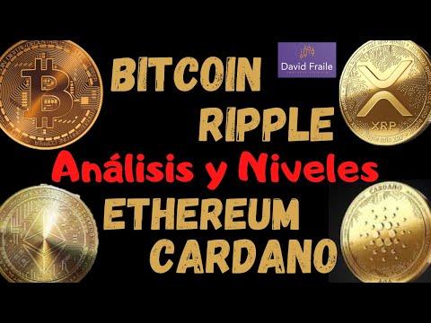 Ethereum, Cardano, Ripple y Bitcoin - Análisis Técnico de las principales Criptomonedas