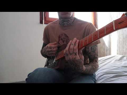 Gary O'Slide - Soul man song - Cigar box guitar