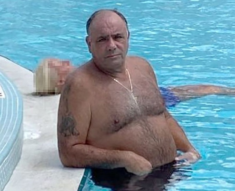 Fugitive Colombo Mafia family consigliere turns himself in after photo shows him relaxing in pool after bust