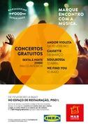 """MÚSICA: Andor Violeta já não significa """"vai-te embora"""", mas boa música no MAR Shopping Matosinhos"""