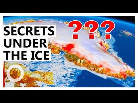 6 Mysterious Structures found under Greenland's ice sheet