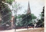 'Heimath' and Christ Church Crouch End Hill, c1905
