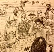 Cally Fest Beach~ Dave art and imagination.