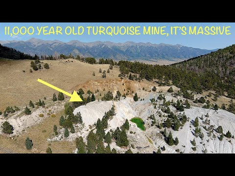 11,000 Y/O Turquoise Mine & Ancient 3 Headed Snake Effigy 1200 ft Long, Christopher O'Brien