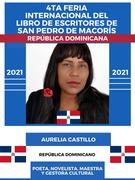 4TA FERIA INTERNACIONAL DE ESCRITORES DE SAN PEDRO DE MACORÍS