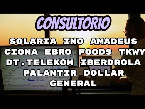 Video Análisis con Alberto García Sesma: Iberdrola, Solaria, Amadeus, Ebro Foods, Deutsche Telekom, Cigna...