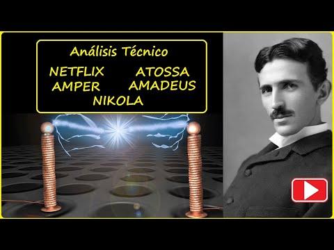 Análisis Técnico NETFLIX, ATOSSA, AMPER, AMADEUS, NIKOLA