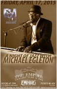 Michael Egleton Concert Poster