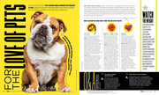 For the Love of Pets - Spread 1