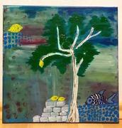 El - Biar lemon tree - acrylic