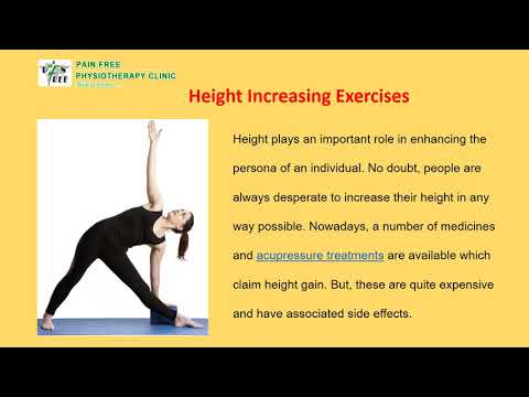 Height Increase Exercis in Dwarka  - Pain Free