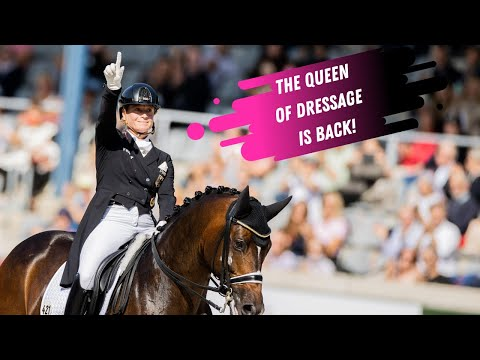 The Queen Is Back! Isabell Werth & Quantaz Battle Their Way To The Top In The Grand Prix Freestyle!