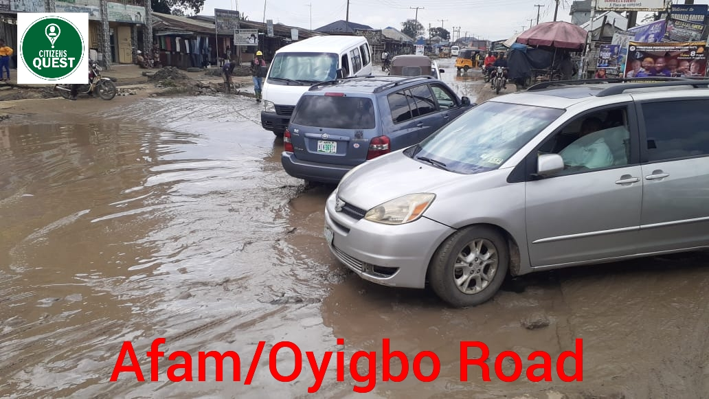 Act On the Deplorable State of Oyigbo -Afam Road, Group Tasks Concerned Authorities