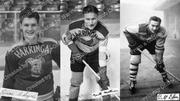 Three Harringay Ice Hockey Players, 1950s