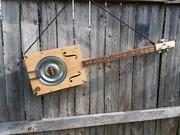 Modified C. B. Gitty Hubcap Howler Kit Guitar