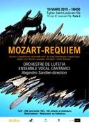 Requiem de Mozart : Choeur et Orchestre