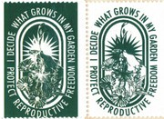 Donovan Beeson Reproductive Freedom Artistamps