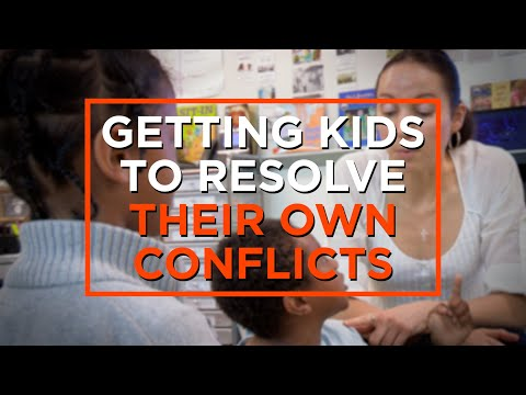 How to Teach Students to Manage Their Own Conflicts