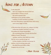 Song For Autumn