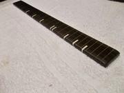 Ziricote fret board w/ brass powder inlay bone markers
