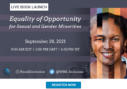 Launch of the Equality of Opportunity for Sexual & Gender Minorities (EQOSOGI) report