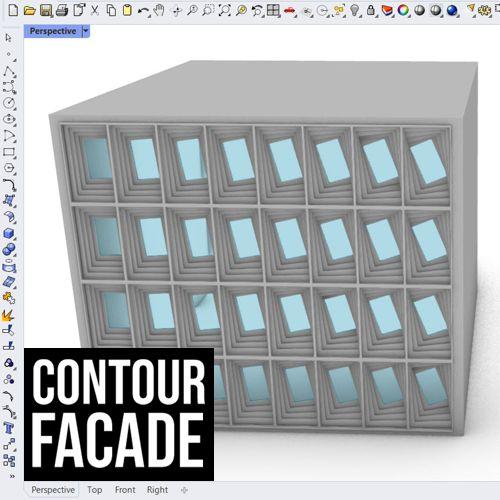 Contour facade