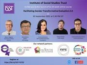Launch Event: Facilitating Gender Transformative Evaluation 2.0