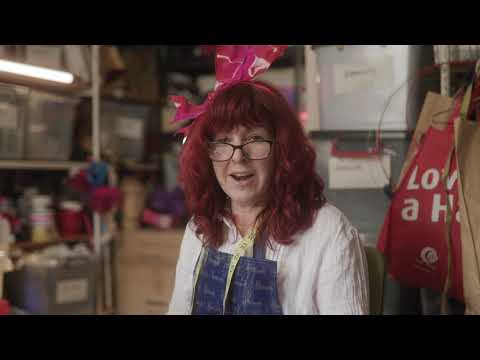 Kim Fletcher - Myer Fashions on your Front Lawn Mad Hatters