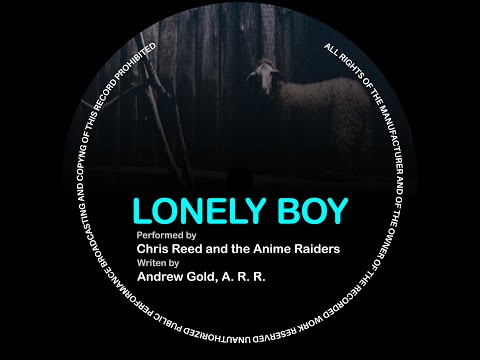 """Andrew Gold's """"Lonely Boy"""", performed by Chris Reed and the Anime Raiders"""