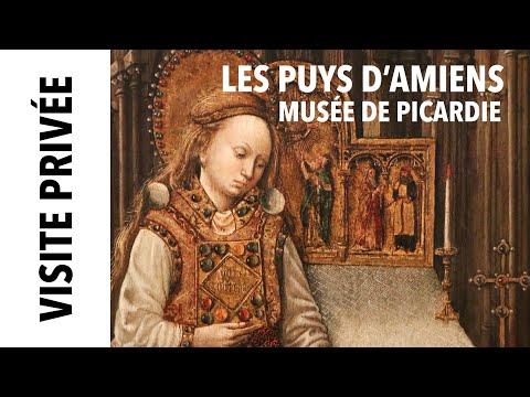 [Visite privée] Les Puys de Notre-Dame d'Amiens au musée de Picardie