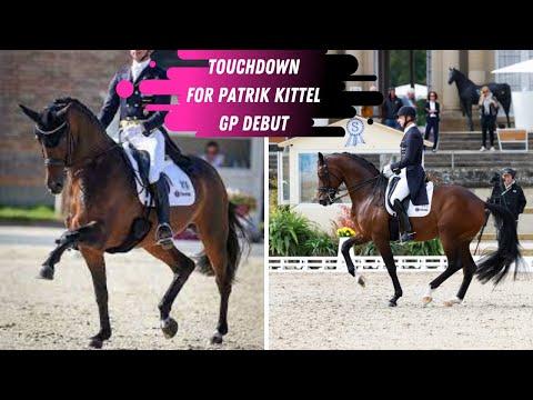 Patrik Kittel Scores A Touchdown: Grand Prix Dressage Freestyle Debut on The 9-Year-Old Stallion