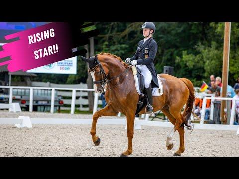 Trained By Jessica Von Bredow Werdnl - Rising Star Rapheal Netz & Lacoste - Grand Prix Freestyle