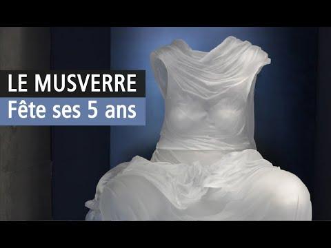 Le MusVerre célèbre ses 5 ans avec ses extraordinaires collections de lumière. Vidéo YouTube