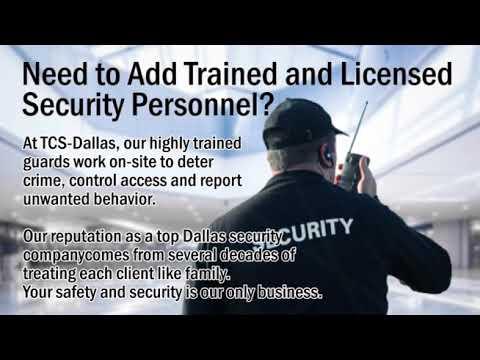 Security Guard Company in Dallas Texas - Twin City Security