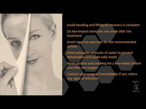 Face Liposuction Recovery Tips