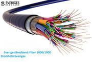 Sveriges Bredband: Fiber 1000/1000 Stockholm