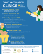 Pop Up Clinics - English
