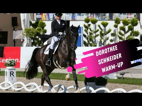 Olympian Dorothee Schneider Grand Prix Dressage Warm-Up
