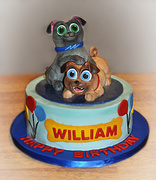 Puppy Pals Cake for Icing Smiles