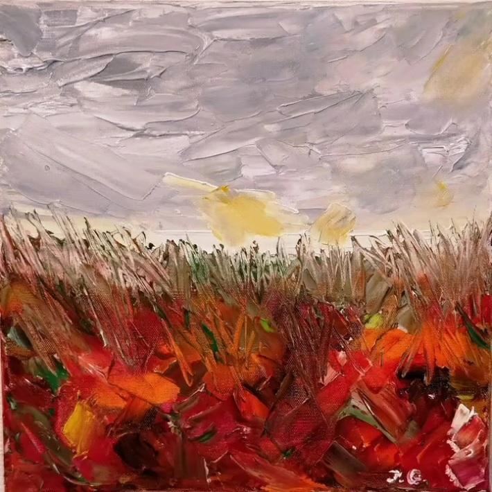 """""""Au point du jour"""" de Jacqueline Gilbert,  une oeuvre qui mérite Debussy..."""
