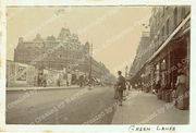 Green Lanes,Harringay before the building of Salisbury Promenade c1905