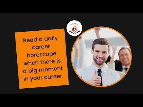 Daily Career Horoscope: Daily Horoscope for Today