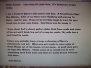 email to Yannis