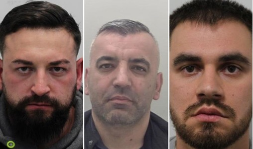 London-based gangsters caught with guns sentenced to prison