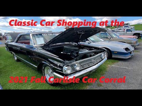 Classic Car Shopping at the 2021 Fall Carlisle Car Corral  Video  1