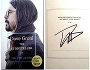 Dave Grohl signed The Storyteller