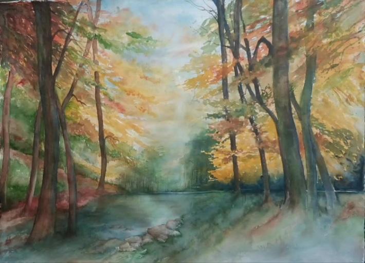 """Petit hommage musical à """"La forêt tant attendue"""" de Jacqueline De Roo"""